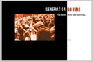 Generation on Fire home page